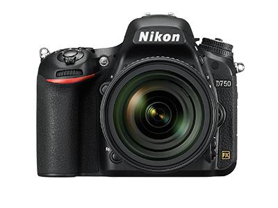 尼康D750  全画幅单反相机(2432万/翻转屏/51点AF)单机身整体外观图图片4