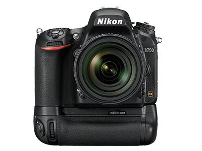 尼康D750  全画幅单反相机(2432万/翻转屏/51点AF)单机身整体外观图图片6