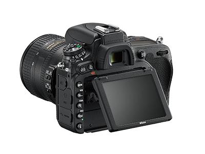 尼康D750  全画幅单反相机(2432万/翻转屏/51点AF)单机身整体外观图图片7