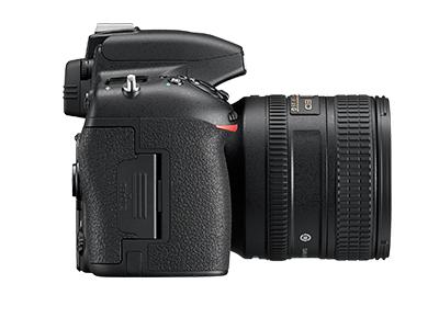 尼康D750  全画幅单反相机(2432万/翻转屏/51点AF)单机身整体外观图图片8