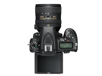 尼康D750  全画幅单反相机(2432万/翻转屏/51点AF)单机身整体外观图图片9