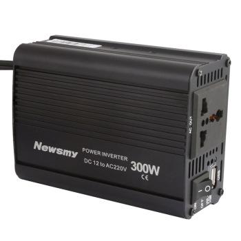 纽曼车载逆变器12v转220v 300w 汽车电源转换器 车载电源 充电器车载