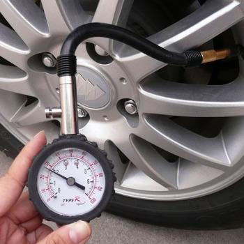 汽车精密轮胎胎压计 摩托车胎压气压表 轿车货车胎压监测器胎压充气图片