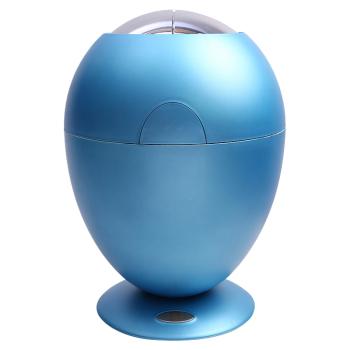 浅蓝色 首页 报价中心 美创 智能感应垃圾桶欧式时尚创意客厅家用翻盖