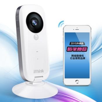 Ithink手立视i2微信互联版 网络摄像机 无线网络摄像头 720P百万高清wifi智能家居监控 ipcamera智能家居产品图片4