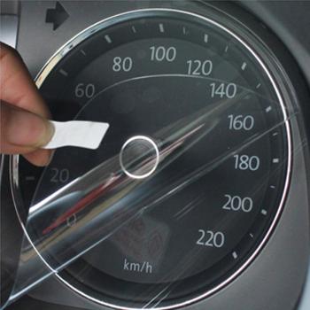 飞石仪表盘保护膜 汽车仪表盘防刮膜 现代车系专用 白色 国产新胜达13高清图片