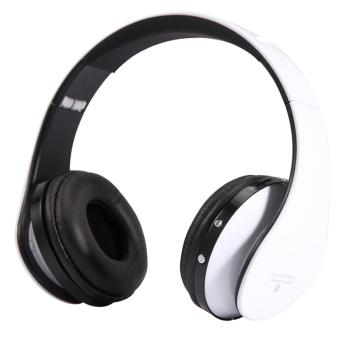 E 750无线蓝牙耳机头戴式耳麦 皓月白色蓝牙耳机产品图片1