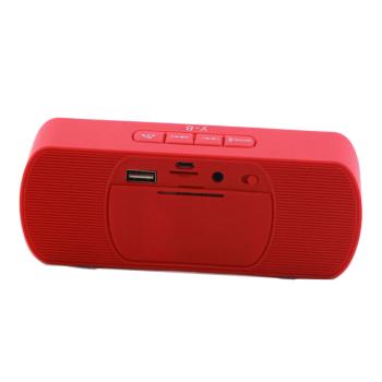 无线音响 笔记本电脑小音箱 插卡u盘扩音器收音机 迷你车载音乐播放器