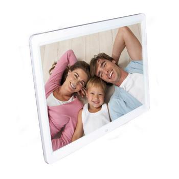 农业技术台历模板-屏相架超薄带农日历时钟MP4 白色锂电款16G卡数码相框产品图片2