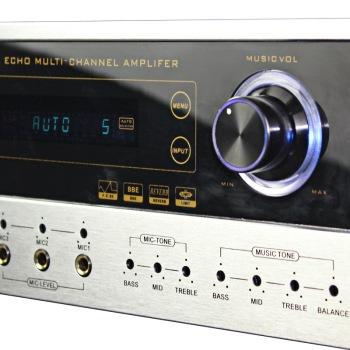 KA 450 家庭影院 家用式音箱 AV功放机 银色 家庭影院套装产品图片4