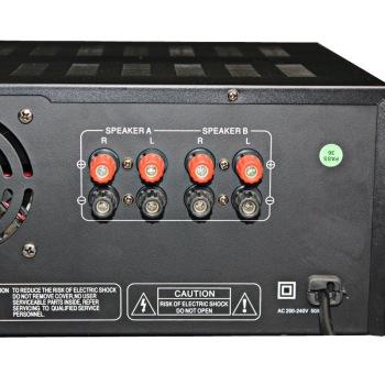 A 8200 家庭影院 家用式音箱 AV功放机 黑色 家庭影院套装产品图片4