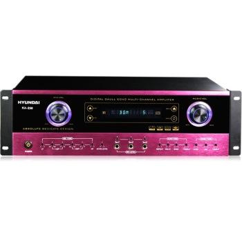 KA 250 家庭影院 家用式音箱 AV功放机 红色 家庭影院套装产品图片1