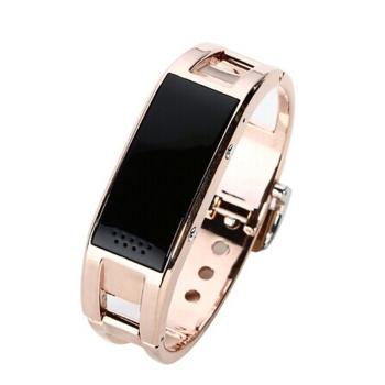 ...表 免提通话 来电震动提醒 苹果三星安卓通用 金色智能手环产品图片1