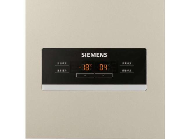 西门子BCD-610W(KA92NV03TI)冰箱 610升L变频 对开门冰箱(浅金色)冰箱产品图片2