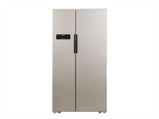 西门子BCD-610W(KA92NV03TI)冰箱 610升L变频 对开门冰箱(浅金色)冰箱产品图片4