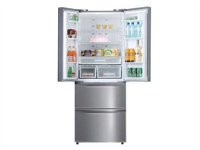 美菱BCD-356WPC 356升L 多门冰箱(银灰色)冰箱产品图片1