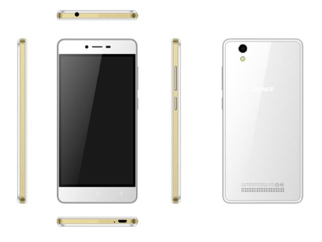 金立F103 雪金白手机产品图片1