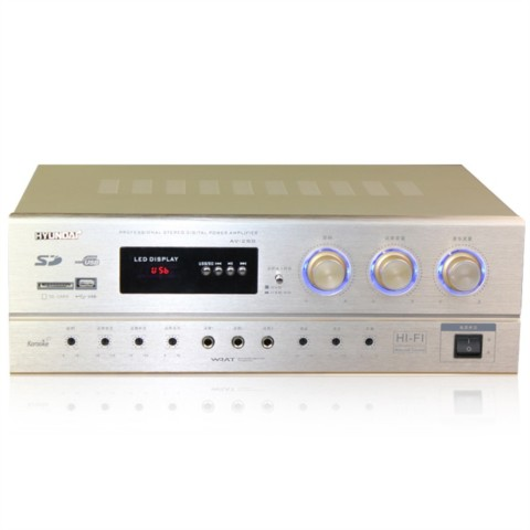 AV 288 家庭影院功放机 卡拉OK功放音响家庭影院套装产品图片1