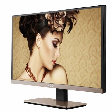 AOCI2267FWB BG 21.5英寸超窄边框镜面屏IPS广视角网吧游戏电竞显示器液晶显示器产品图片2