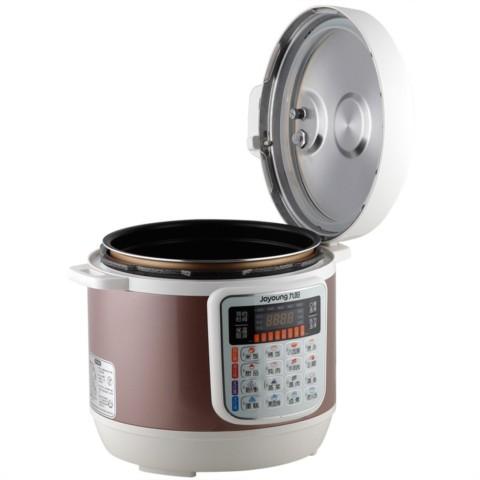 九阳jyy-80ys1电压力锅大蒸霸压力煲8l超大容量附带双层蒸笼电压力锅
