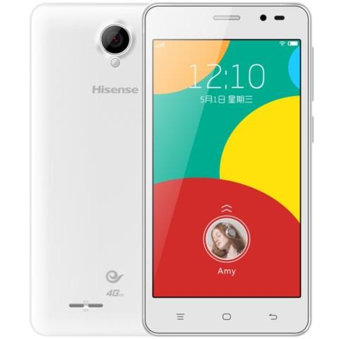 海信m20-t 晴雪白 电信4g手机 双卡双待手机产品图片6