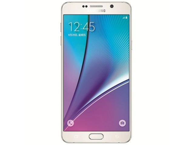 三星galaxy note2蓝_三星Galaxy Note 5 64GB 雪晶白手机产品图片5-IT168