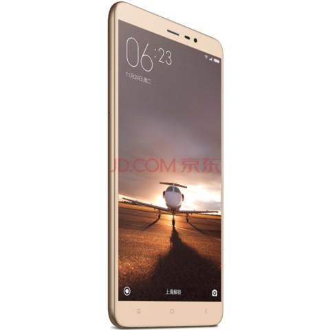 小米红米 note3 标配版 移动联通双4g 金色手机产品图片5