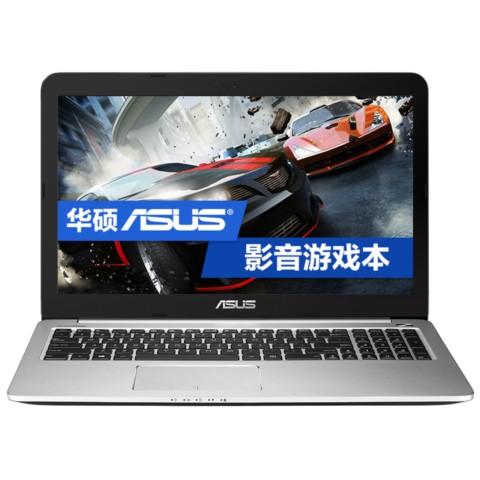 华硕V455L 14英寸轻薄影音游戏笔记本电脑(i5-5200 5400转500G GTX940M 2G 独显 1366 x 768)笔记本产品图片1
