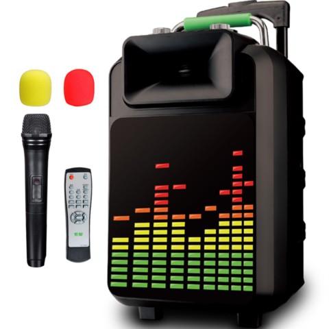 0 便携式移动拉杆户外音响 大功率电瓶插卡广场舞音箱迷你音响产品