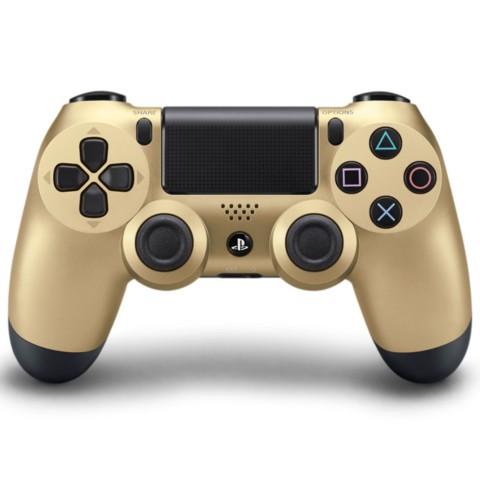 索尼 PlayStation 4 游戏手柄 金色 游戏机产品图片1