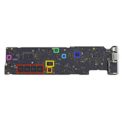 苹果MacBook Air 13.3英寸笔记本电脑 银色(Core i5 处理器/8GB内存/128GB SSD闪存 MMGF2CH拆机图片4