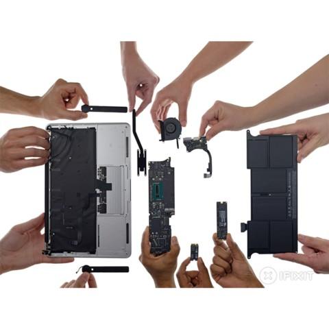 苹果MacBook Air MJVM2CH/A 2015款 11.6英寸笔记本(i5-5200U/4G/128G SSD/核显/Mac OS/银色)拆机图片5
