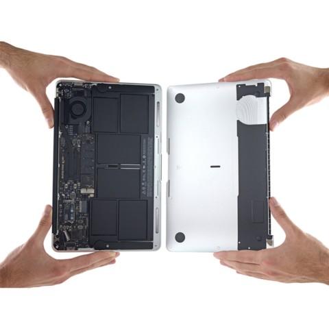 苹果MacBook Air MJVM2CH/A 2015款 11.6英寸笔记本(i5-5200U/4G/128G SSD/核显/Mac OS/银色)拆机图片6