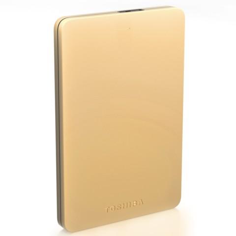 东芝Alumy系列 1TB 2.5英寸 USB3.0移动硬盘 尊贵金移动硬盘产品图片1