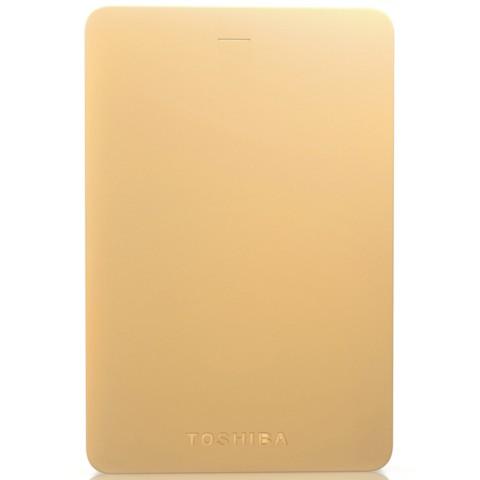 东芝Alumy系列 1TB 2.5英寸 USB3.0移动硬盘 尊贵金移动硬盘产品图片2