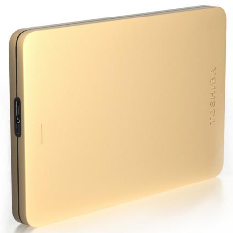 东芝Alumy系列 1TB 2.5英寸 USB3.0移动硬盘 尊贵金移动硬盘产品图片3