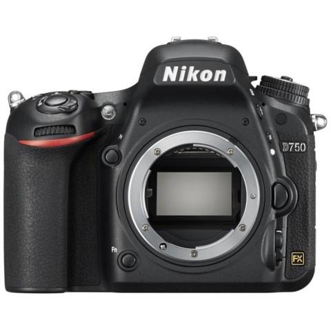 尼康D750  全画幅单反相机(2432万/翻转屏/51点AF)单机身整体外观图图片20