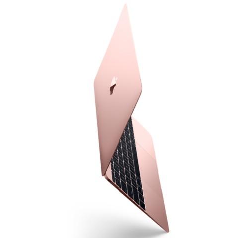 苹果MacBook 2016版 12英寸笔记本电脑 玫瑰金色 512GB闪存 MMGM2CH/A笔记本产品图片1