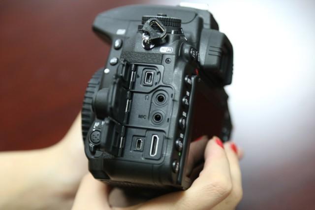 尼康D750  全画幅单反相机(2432万/翻转屏/51点AF)单机身局部细节图图片6