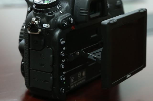 尼康D750  全画幅单反相机(2432万/翻转屏/51点AF)单机身局部细节图图片9