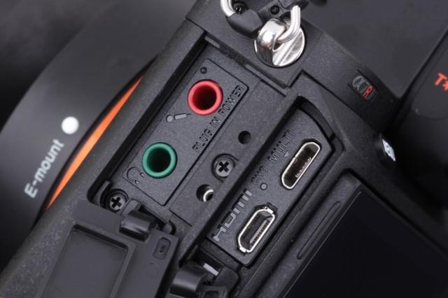索尼A7RII 全画幅无反相机局部细节图图片7