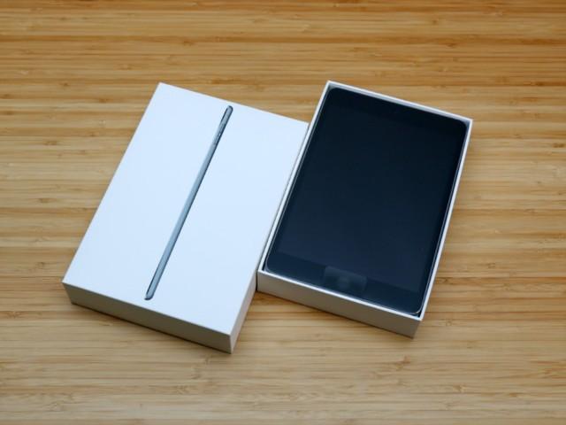 苹果iPad mini 4(7.9英寸 128G WLAN 机型 银色)开箱图片3