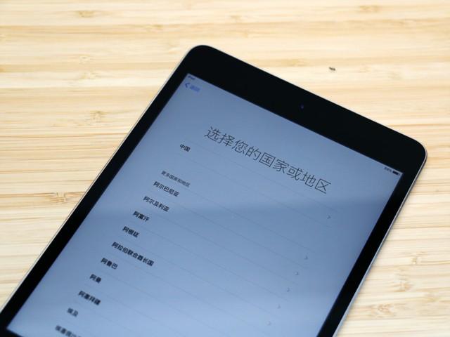 苹果iPad mini 4(7.9英寸 128G WLAN 机型 银色)开箱图片6