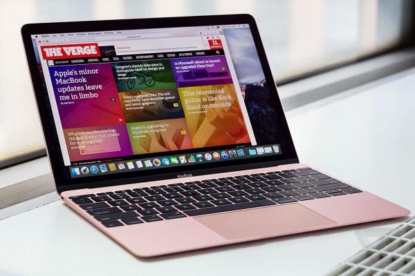 苹果MacBook 2016版 12英寸笔记本电脑 玫瑰金色 512GB闪存 MMGM2CH/A实拍图片2