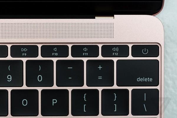 苹果MacBook 2016版 12英寸笔记本电脑 玫瑰金色 512GB闪存 MMGM2CH/A实拍图片4