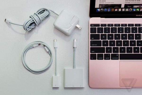 苹果MacBook 2016版 12英寸笔记本电脑 玫瑰金色 512GB闪存 MMGM2CH/A实拍图片8