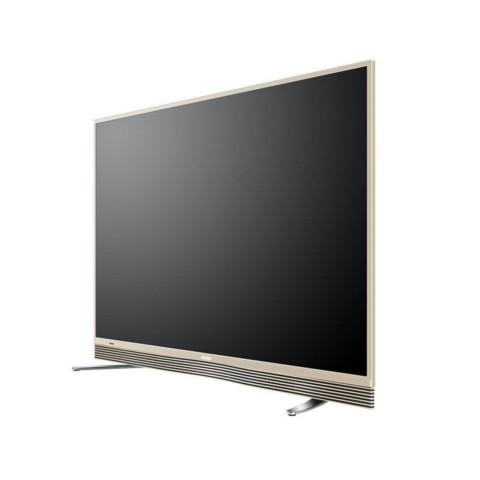 海尔模卡 MOOKA U65A9 65英寸纤薄4K直面64G大存储音乐LED电视 金色 平板电视产品图片3