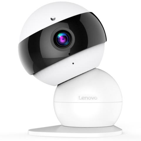 联想1080P高清智能摄像机 远程安防监控夜视网络摄像头 360度磁吸结构 无线wifi 看家宝snowman智能家居产品图片2