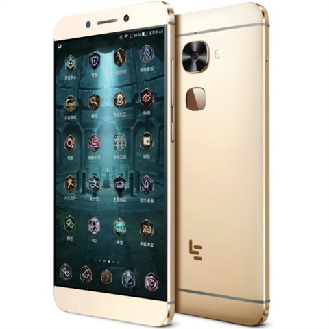 乐视乐2 爵迹版(Le X620)32GB 原力金 移动联通电信4G手机 双卡双待手机产品图片3
