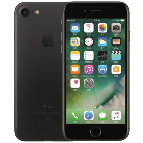 苹果iPhone 7 32GB 公开版 黑色外观图片2